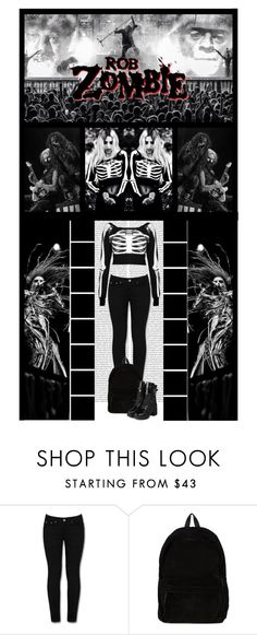 """""""Contest: ROB ZOMBIE (READ D)"""" by irresistible-livingdeadgirl ❤ liked on Polyvore featuring Mode, Oris, Ann Demeulemeester, yeswalker, women's clothing, women, female, woman, misses und juniors"""