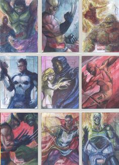 Sneak Peek at Marvel: Bronze Age Sketch Cards    Artist of the Day: Mary Jane Pajaron    http://www.scifihobby.com/products/marvel/bronzeage/index.cfm