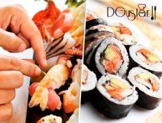 ¿Para qué ir a un japonés si tú puedes elaborar sushi? Aprende a cocinar el sushi más delicioso con el curso + comida de 2h en Dgustar