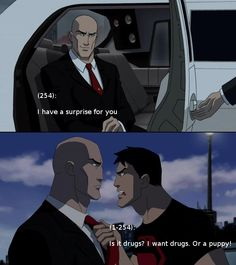 Screencaps by Bentfire. Submission by StoopidtallKid Young Justice Love, Young Justice Funny, Young Justice Comic, Young Justice League, Young Justice Superboy, Power Rangers Comic, Batman Meme, Robin Dc, Drunk Texts