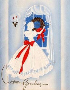 Old Christmas Card — Vintage (660x850)