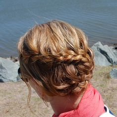 Snaky french braid