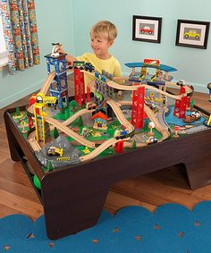 Super Highway Train U0026 Table Set #zulilyfinds