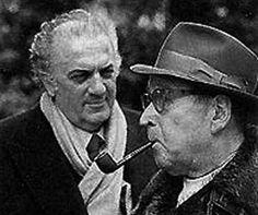 Georges Simenon e Federico Fellini