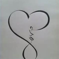 Image Search Results For Cross Infinity Tattoos Is It Just Me Or Do You See Two People Kissing