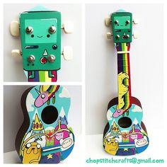 custom ukuleles | Tumblr !!!!!!!!!!!!!!!!!!!!!!
