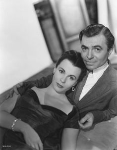 James Mason with Claire Bloom