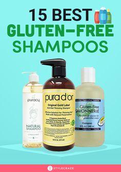 15 Best Gluten-Free Shampoos To Buy