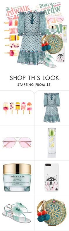 """Basket Bags: Under the Boardwalk"" by bronte89 ❤ liked on Polyvore featuring Talitha, Oliver Peoples, Estée Lauder, Giuseppe Zanotti and Sophie Anderson"
