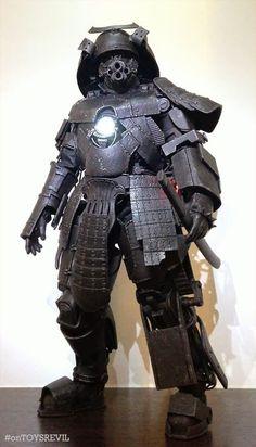 "TOYSREVIL: ""Iron Samurai"" Kitbash/Custom by Ken Lee:"
