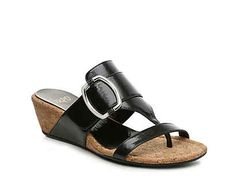 Korks Giverny Wedge Sandal Women's Shoes | DSW Black Wedge Sandals, Black Wedges, Wedge Heels, Wedge Flip Flops, Womens Slippers, Patent Leather, Espadrilles, Boots, Espadrille Wedge