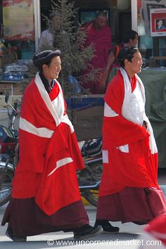 Ngakpas in Red Robes - China