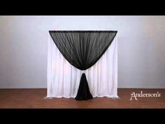 How to Set up a Double Backdrop - YouTube