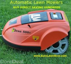 Automowers for sale.Early Spring Special deals on our new 2016 range of Automatic lawn mowers. Save yourself thousands of hour of endless mowing this year with a brand new Genie Automatic Garden Lawn Mower.Leave all the mowing this year to your Genie Automatic lawn mower. Once set up the automatic lawn mower does its own mowing while you relax or focus on other garden chores.AutoLawnMow European wholesale supplier of robot lawn mowers is offering some fantastic early season offers on many…