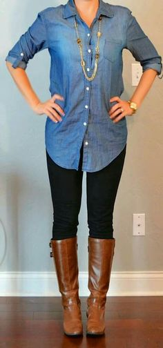 I love this...not sure I could pull it off but it's super cute!