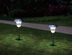 Patriot Lighting 174 2 Pack Putney Solar Landscape Light With