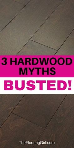 All hardwood sheens are EQUALLY durable. In this article I'm going dispel several myths related to hardwood and polyurethane Hardwood Cleaner, Refinishing Hardwood Floors, Home Decor Hacks, Diy Home Decor Projects, Types Of Flooring, Diy Flooring, Floors And More, Common Myths, Luxury Vinyl Plank