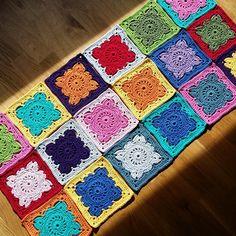 """Willow crochet blanket - Kajsa S (@kamalicrochet) on Instagram: """"This'll work! 😀😀😀👍👍👍"""""""