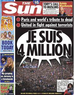 The Sun #jesuischarlie #charliehebdo