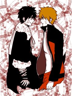 Naruto and Menma