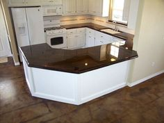 Concrete countertops DIY....will do charcoal with glass mixed in,