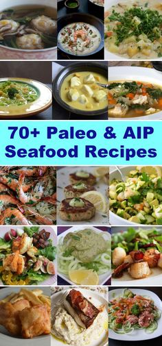 70  Paleo and AIP Seafood Recipes | http://asquirrelinthekitchen.com/70-paleo-aip-seafood-recipes/