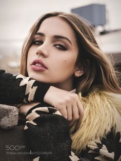 Ana de Armas by rebecasaray Celebrity Photography #InfluentialLime