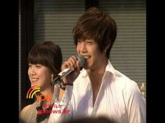 Kim Hyun Joong and Goo Hye Sun _ One(Hana)