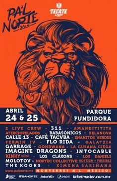 Festival Pal Norte 2015 Lineup y precios