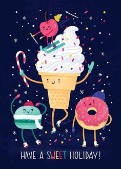 Imagen de ice cream and donuts