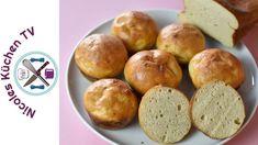 Zucchini Brötchen Low Carb - Rezept von Nicoles Küchen Tv Muffins, Breakfast, Food, Muffin Recipes, Dinner Rolls Recipe, Food Food, Muffin, Meal, Eten