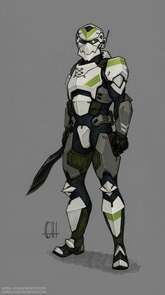 Selections from Inktober 2016 (Armor), Geoff Herndon Robot Concept Art, Armor Concept, Character Concept, Character Art, Character Design, Suit Of Armor, Body Armor, Futuristic Armour, Arte Robot