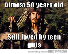 Johnny Depp must be doing something right…