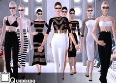QuadradoSims: QUADRADO - SUMMER COLLECTION 2016 (1)