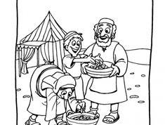Manna i przepiórki - zeszyt - Biblia Dla Dzieci Art, Bible, Art Background, Kunst, Performing Arts, Art Education Resources, Artworks