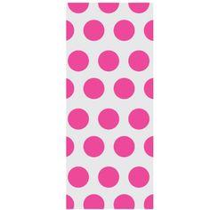 Hot Pink Dot Treat Bags (20 count) by Amscan, http://www.amazon.com/dp/B001GQNTC8/ref=cm_sw_r_pi_dp_3MzHrb1T4010F