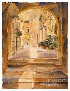 Tarxien alley Malta