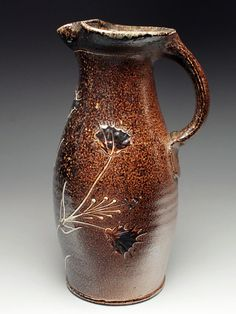 Alex Matisse Wood Fired Pitcher at MudFire Gallery
