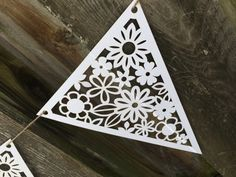 Lace Banner Country Chic Wedding Decor Laser by decadentdesigns, $7.50