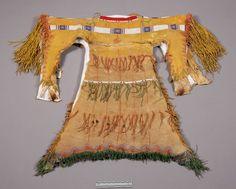 S. Arapaho dress.  NMNH  ac