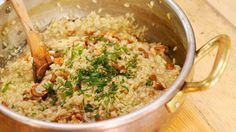 A good risotto is unbeatable! Fall Recipes, New Recipes, Best Risotto, Rice, Meals, Koti, Autumn, Foods, Drinks