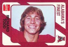 1989 Alabama Coke 580 #131 Richard Todd Front