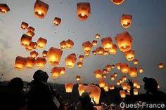 Lampions thailandais