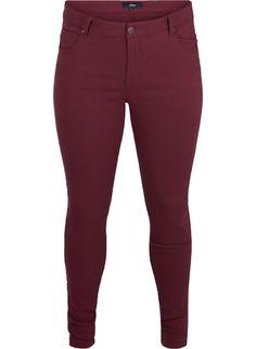 Tettsittende bukser - Kjøp str. 42-56 online på Zizzi.no - Zizzi.no