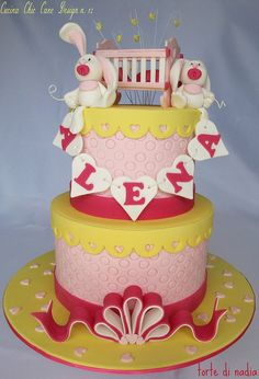 "Per la rivista ""CUCINA CHIC CAKE DESIGN"" n. 12 by torte di nadia, via Flickr"
