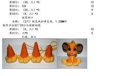 Simba Discussion sur LiveInternet - The Russian Online Diaries Service Crochet Bee, Crochet Food, Crochet Dolls, Russian Crochet, Online Diary, Bead Weaving, Winnie The Pooh, Doll Clothes, Creations