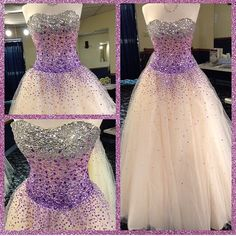 I love this. I think it was supposed to be a prom dress but it looks like my kind of wedding dress lol