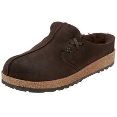Haflinger Womens SC Saskatchewan Shearling Clog Chestnut 37 M US >>> Find out more about the great product at the image link. (This is an affiliate link) Winter Slippers, Cute Slippers, Leather And Lace, Suede Leather, Cotton House, Fashion Slippers, Leather Slippers, Ladies Slips, Unisex