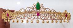 Elegant Cz stone Vaddanam with Pearl Drops| Buy Online jewellery | Elegant Fashion Wear Price;6500 #latest #cz #pearl #vaddanam
