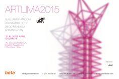 VVArt presente, acompañando a Galería Beta de Colombia en su participación en la Feria de Arte Contemporáneo ART LIMA PERÚ 2015 | Artistas presentados: Guillermo Marconi + John Mario Ortiz + Diego Mendoza + Adrián Gaitán | Booth 33 | Lima . Perú